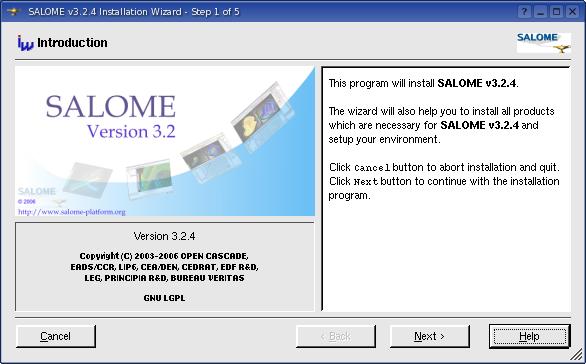 GUI Module Reference Manual v 4 1 5: SALOME Installation